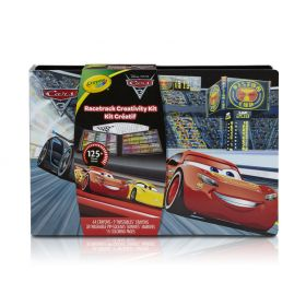 Crayola Disney Cars 3 Racetrack Creativity Kit