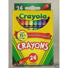 Crayola Crayons 24 Color Pack