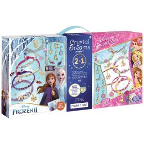 Disney Crystal Dreams 2 in 1 Jewellery Kit with Swarovski Charms