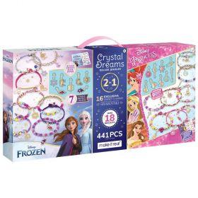 Disney Crystal Dreams 2 in 1 Jewellery Kit with Swarovski Charms