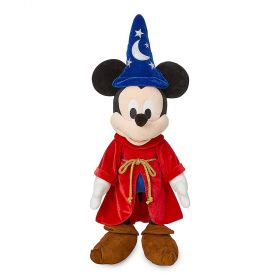Disney Fantasia Sorcerer Mickey Mouse Plush Toy - 27 inch
