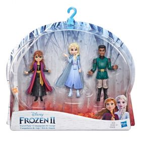 Disney Frozen 2 Anna, Elsa and Mattias Small Dolls 3 Pack