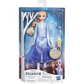 Disney Frozen 2 Elsa Magical Swirling Adventure Light Up Fashion Doll