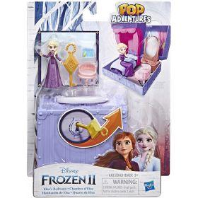 Disney Frozen Pop Adventures Elsa's Bedroom Pop-Up Playset