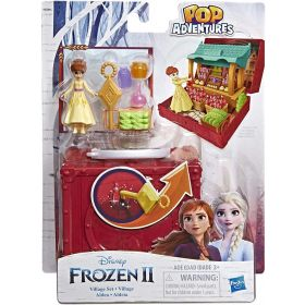Disney Frozen Pop Adventures Village Set Pop-Up Playset