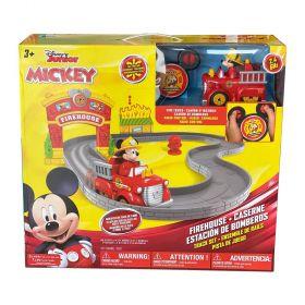 Disney Mickey Firetruck Track Set R/C