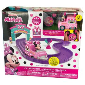 Disney Minnie Ice Cream Shop Track Set R/C
