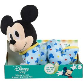 Disney Musical Crawling Pals Feature Plush Mickey