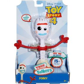 Disney Pixar Toy Story 4 True Talkers Forky Figure