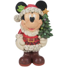 Disney Traditions Mickey Mouse Old St Mick 17 Inch Figure By Jim Shore