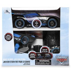 Disney Cars 3 Jackson Storm Build to Race Remote Control Car
