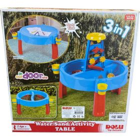 Dolu 3-in-1 Sand, Water & Activity Table