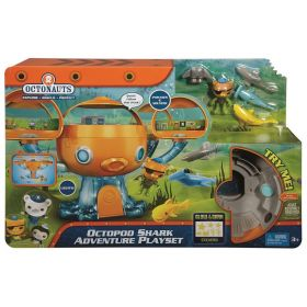 Fisher Price Octonauts Octopod Shark Adventure Playset