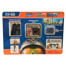 Explore One HD Sports Action Camera Waterproof with Built-in WIFI