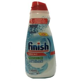 2 x Finish Max in 1 Concentrated Dishwasher Gel 650 ml