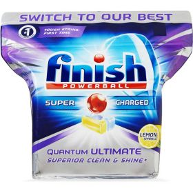 Finish Quantum Ultimate Lemon Sparkle 80 Tabs