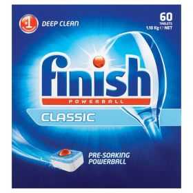Finish Powerball Classic Dishwashing Tablets 2 x 60 pack