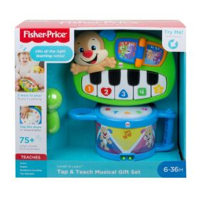 Fisher-Price Laugh & Learn Tap & Teach Musical Gift Set