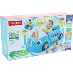 Fisher Price Laugh and Learn Smart Stages Crawl Around Car-Blue