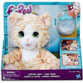 FurReal Cuddlin Cara Interactive Kitty