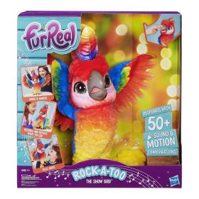 FurReal Rock A Too The Show Bird Interactive Plush Pet