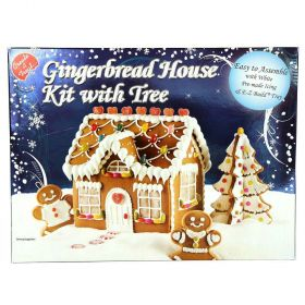 Gingerbread House Kit With Tree 1.3kg
