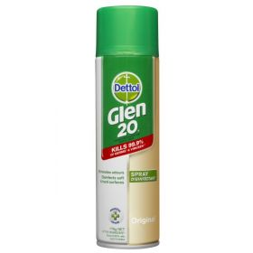 Glen 20 Spray Disinfectant Original Scent 175g