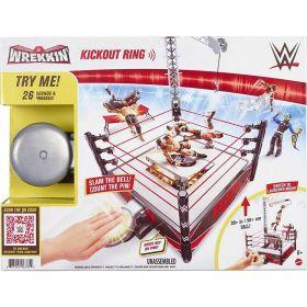 WWE Wrekkin Kickout Ring Playset