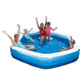 H2OGO Bestway Hexagon Family Pool