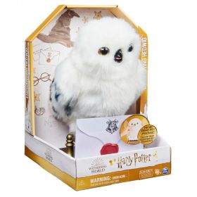 Harry Potter Enchanted Hedwig Interactive Plush