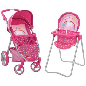 Hauck Stroller and High Chair Set