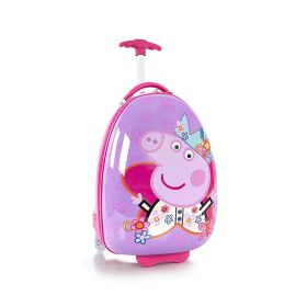 Heys Peppa Pig Egg-Shaped Rolling Luggage Case