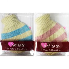 Hot Date 700ml Hot Water Bottle And Cover