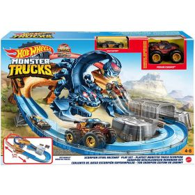 Hot Wheels Monster Truck Scorpion Sting Raceway Playset