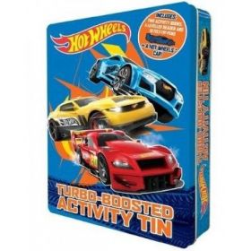 Hot Wheels Turbo boosted Activity Tin