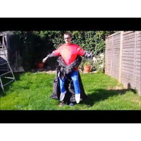 Inflatable Adult Reaper Costume