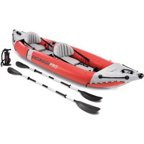 Intex Excursion Pro K2 Inflatable Fishing Kayak