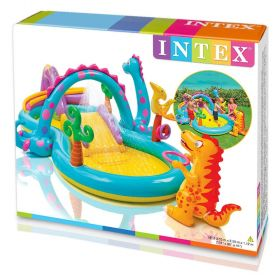 Intex Inflatable Dinosaur Water Play Centre