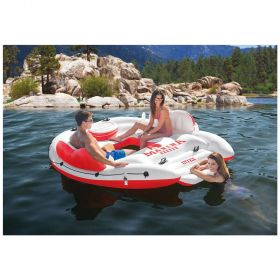 Intex Inflatable Marina Breeze Island Lake Raft