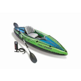 Intex Challenger 1 Person Fishing Kayak