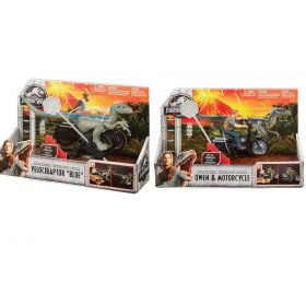 Jurassic World Rip-Run Blue and Owen Combo Pack