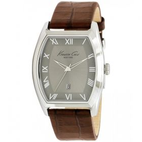 Kenneth Cole New York Croco Leather Watch For Men KC1789