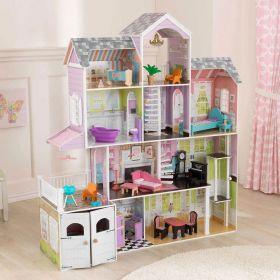 KidKraft Grand Estate Dollhouse With Furniture