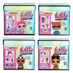 L.O.L Surprise! Furniture Series 3 Playset - Assorted