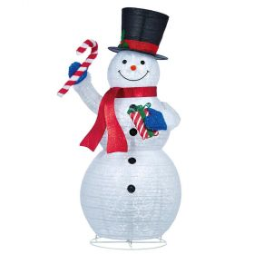 LED Pop-up Snowman 84 inch