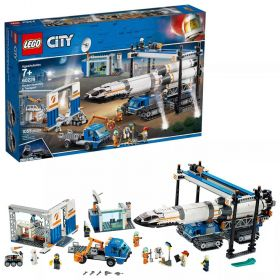 LEGO City Space Rocket Assembly & Transport 60229