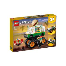 LEGO Creator 3 in 1 Monster Burger Truck 31104