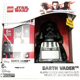 LEGO Star Wars Darth Vader Alarm Clock and Watch