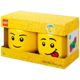 LEGO Storage Pumpkin Head Large 2 Pack