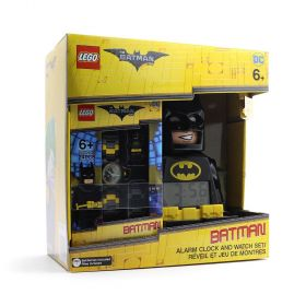 Lego The Batman Movie Batman Alarm Clock and Watch Set